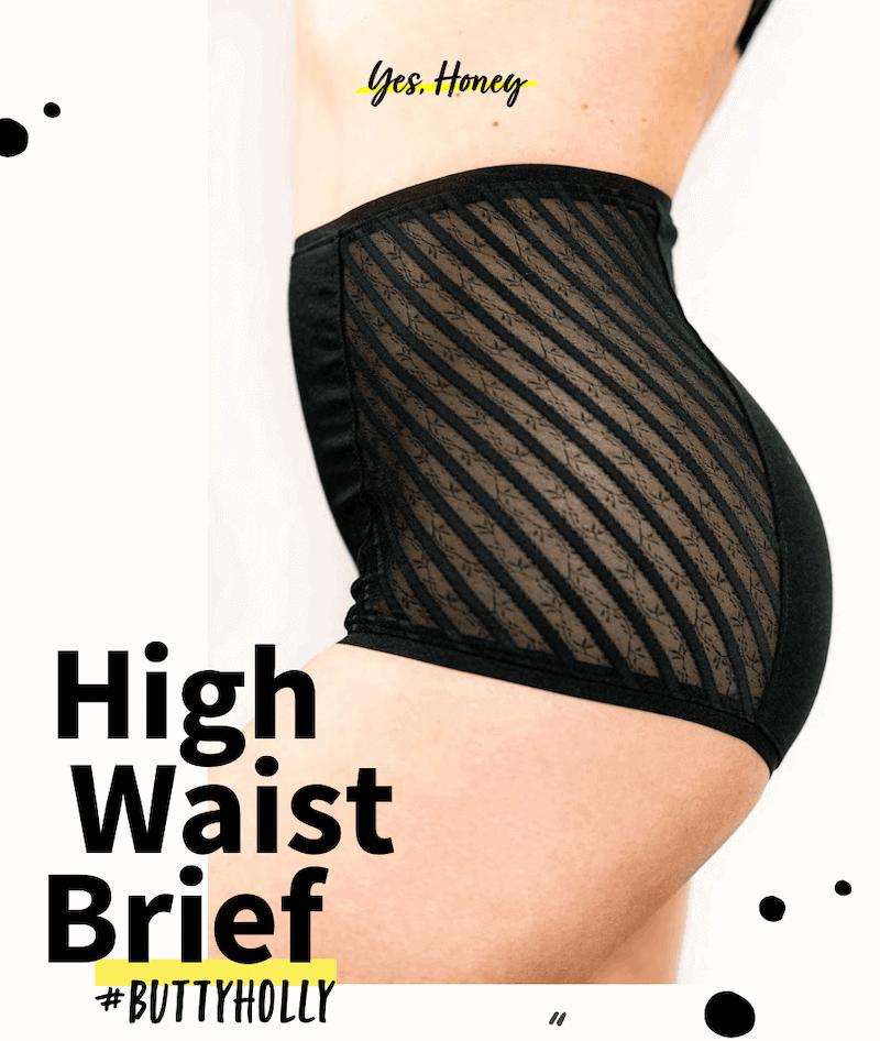 HighwaistBrief#buttyholly